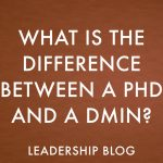 What is the Difference Between a PhD and a DMin?