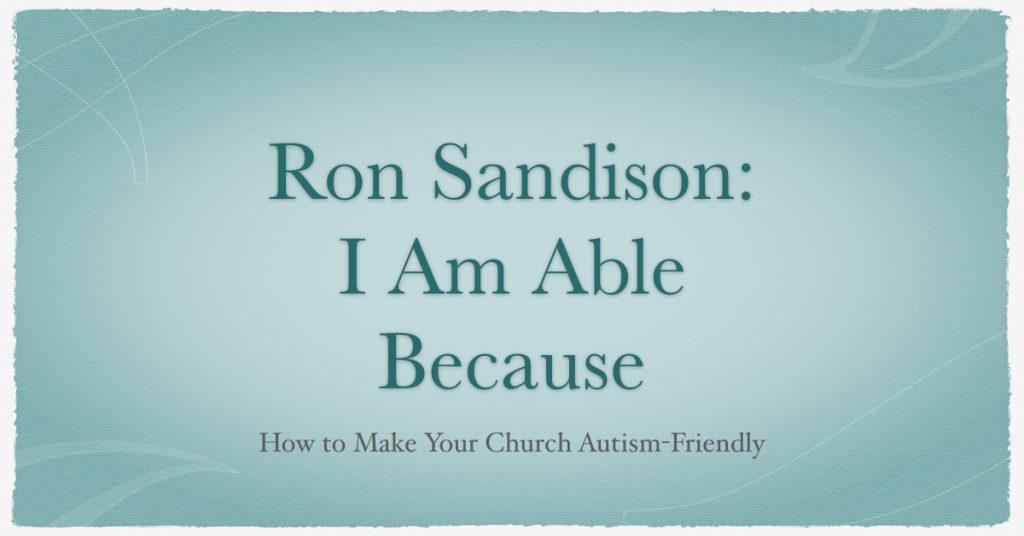 Ron Sandison