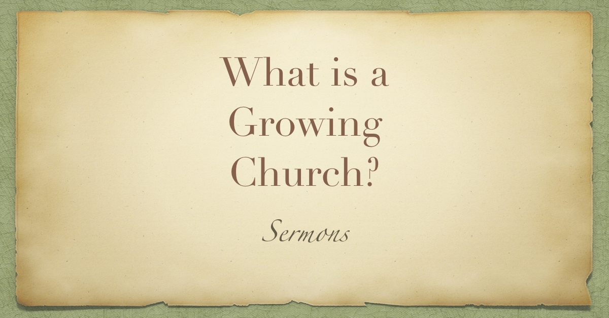 Growing Church