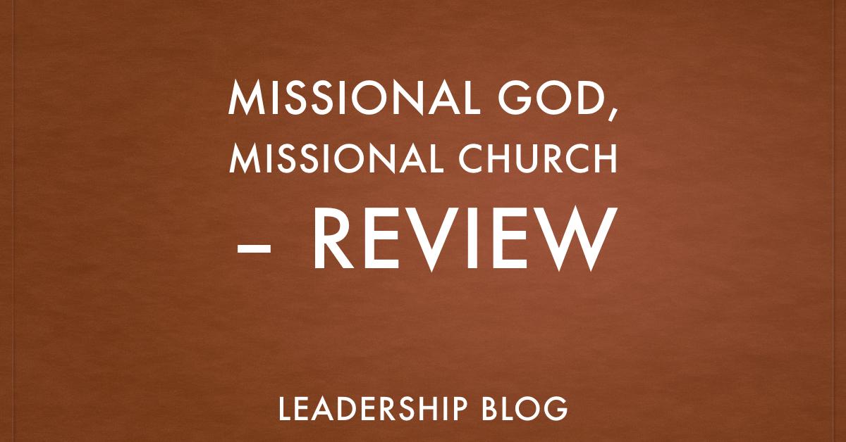 Missional God Missional Church