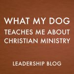 What My Dog Teaches Me About Christian Ministry