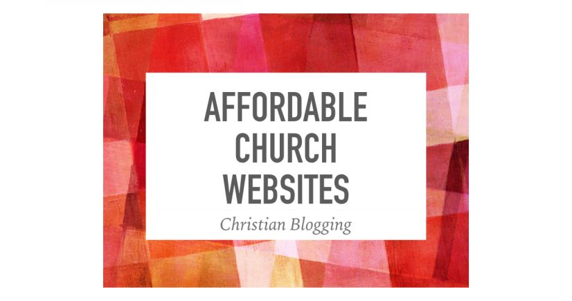 Affordable Church Websites