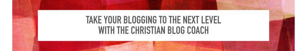 Christian Blog Coach