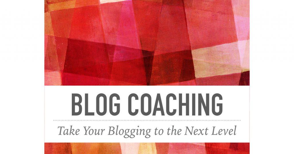 Blog Coaching