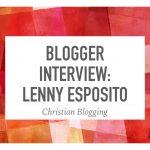 Blogger Interview: Lenny Esposito