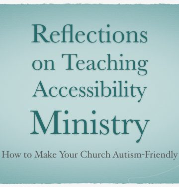 Accessibility Ministry