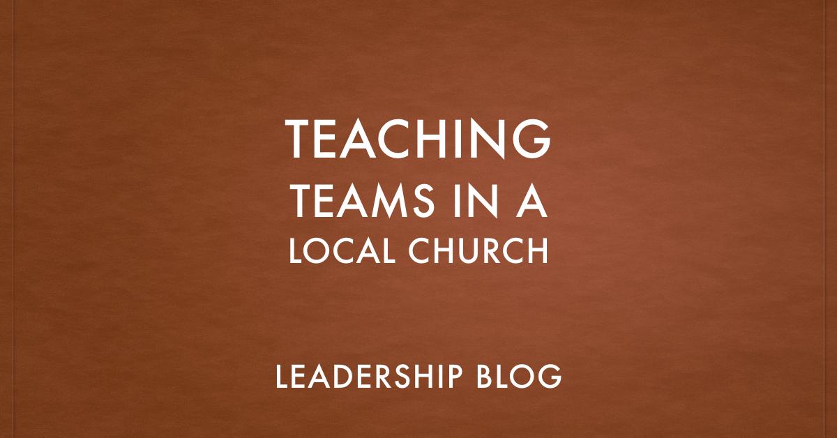 Teaching Teams