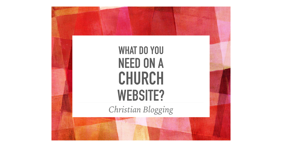 Church Website