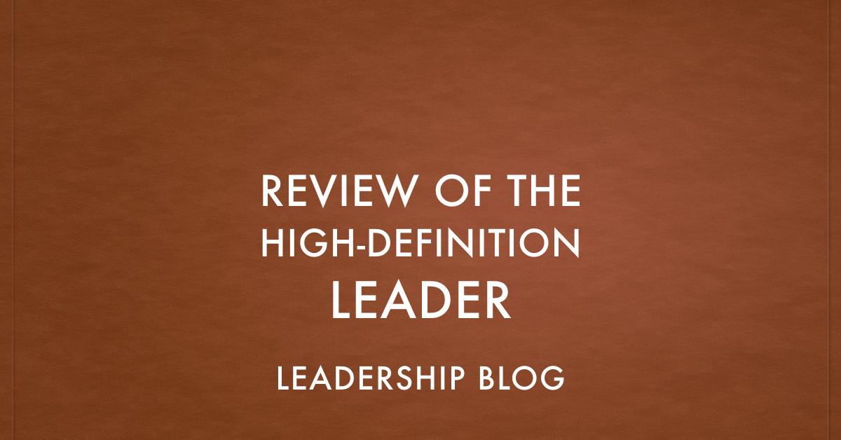 High-Definition Leader
