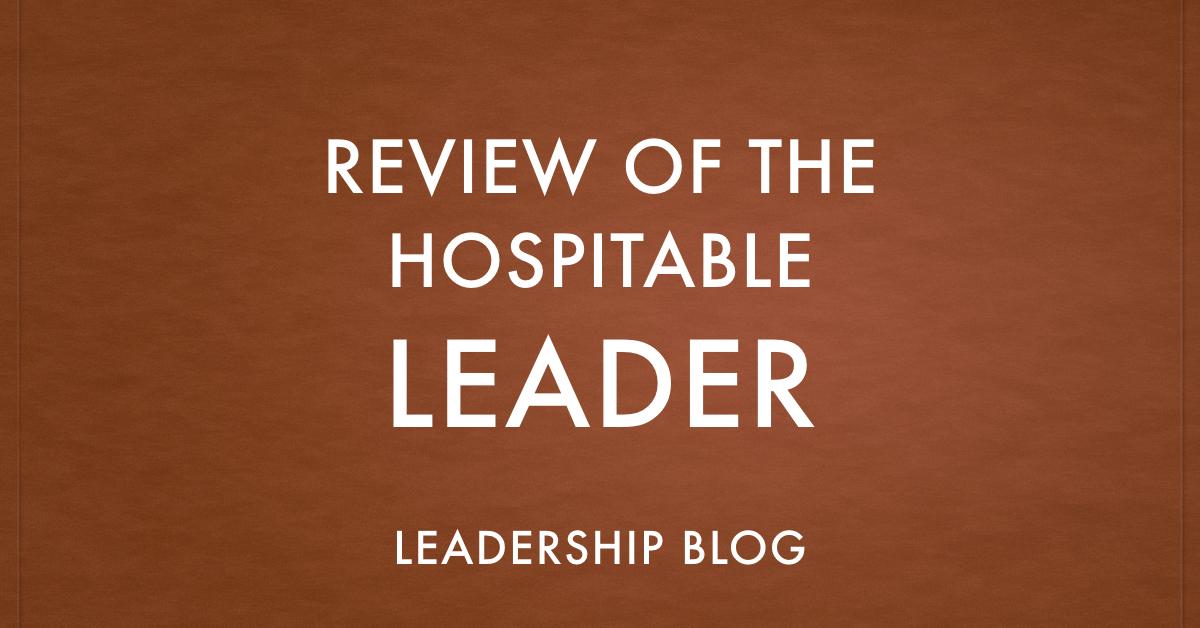 Hospitable Leader