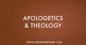 Apologetics and Theology